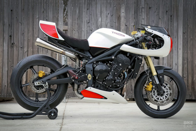 Custom Triumph Street Triple 675 by Jett Design and Motorelic