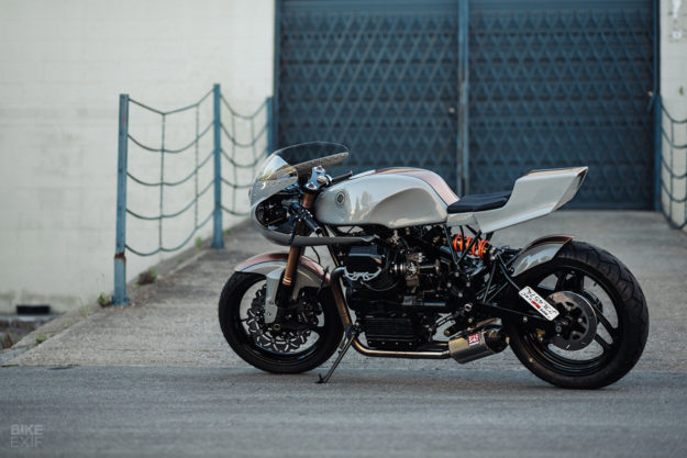 1996 Moto Guzzi 1100 Sport cafe racer by Adam Grosser