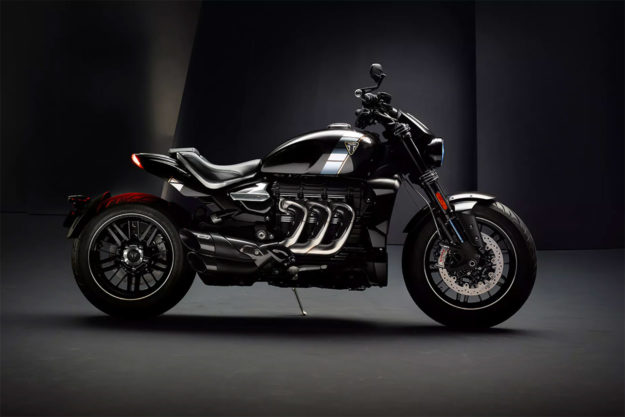 The 2020 Triumph Rocket 3 TFC revealed
