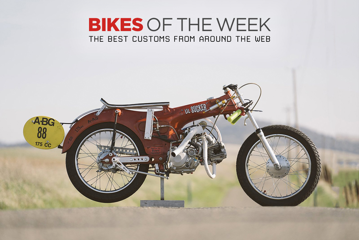 The best cafe racers, muscle bikes and classics from around the web.