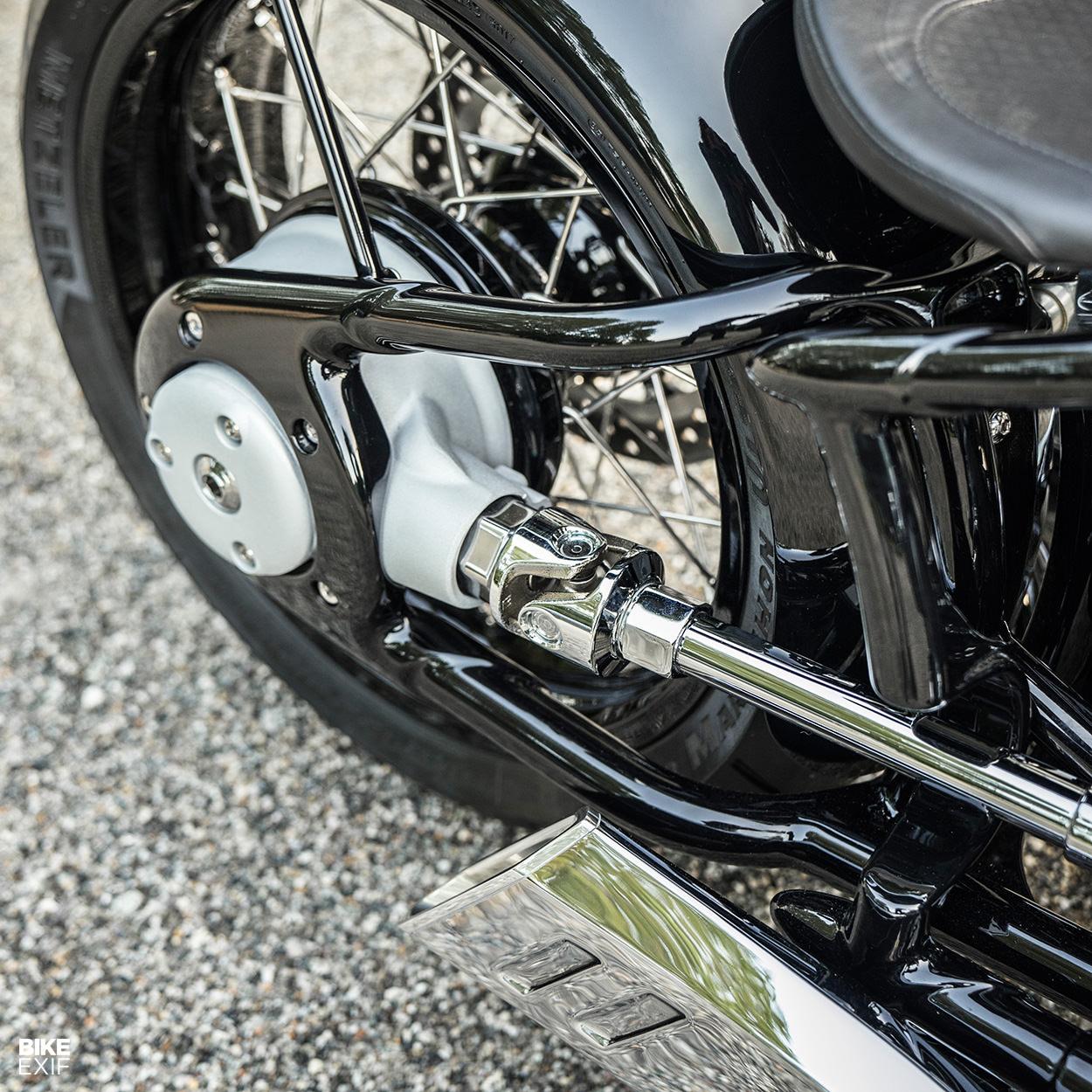 The BMW Concept R18 motorcycle, star of the 2019 Concorso d'Eleganza at Villa d'Este
