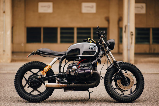 BMW R80 brat tracker by Unik Edition