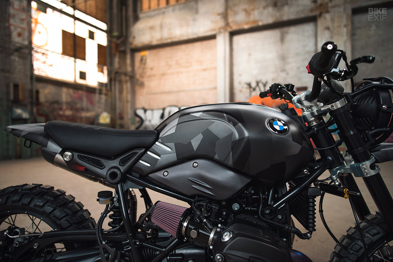 BMW Urban G/S custom scrambler from Sweden