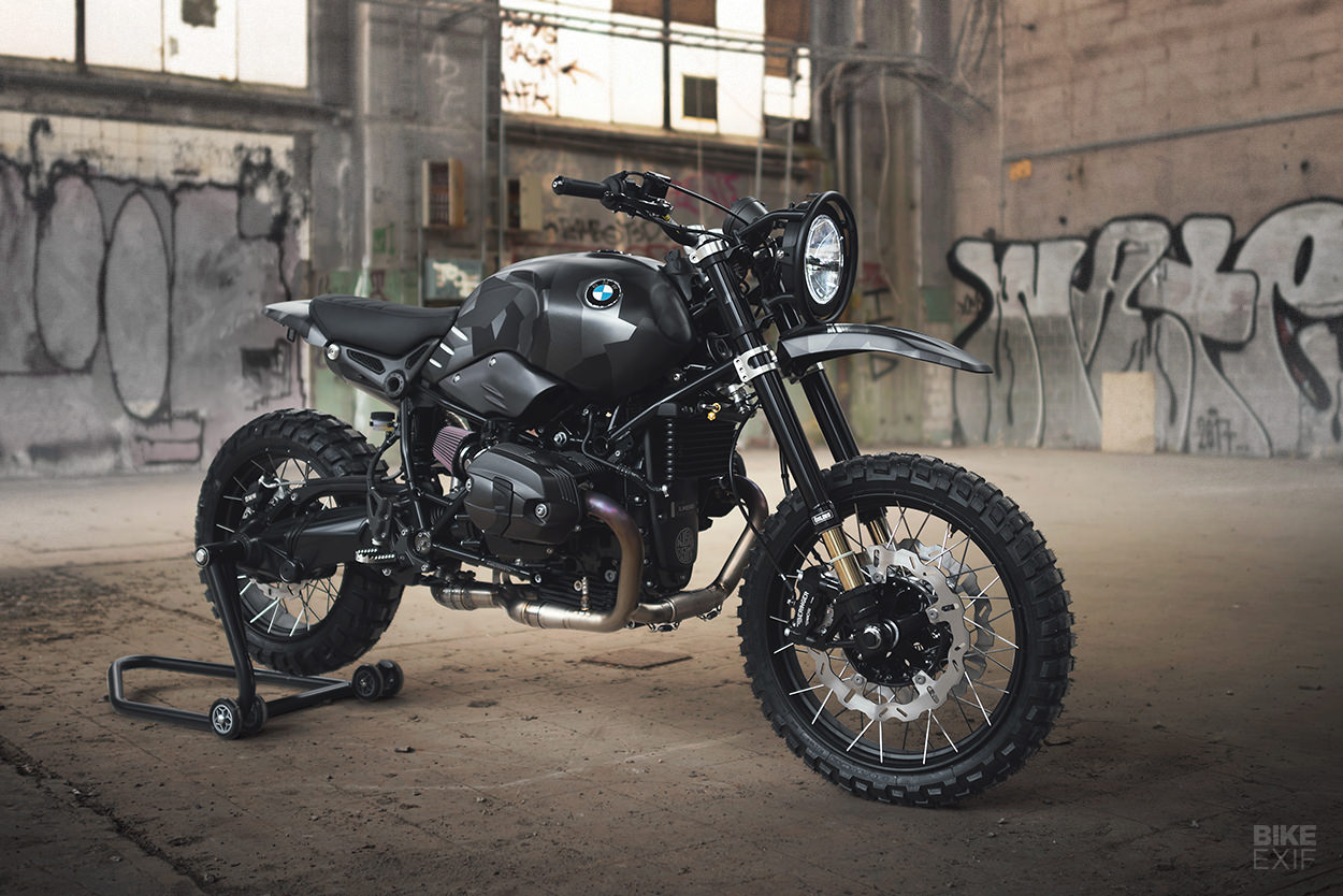 BMW Urban G/S custom scrambler from Sweden