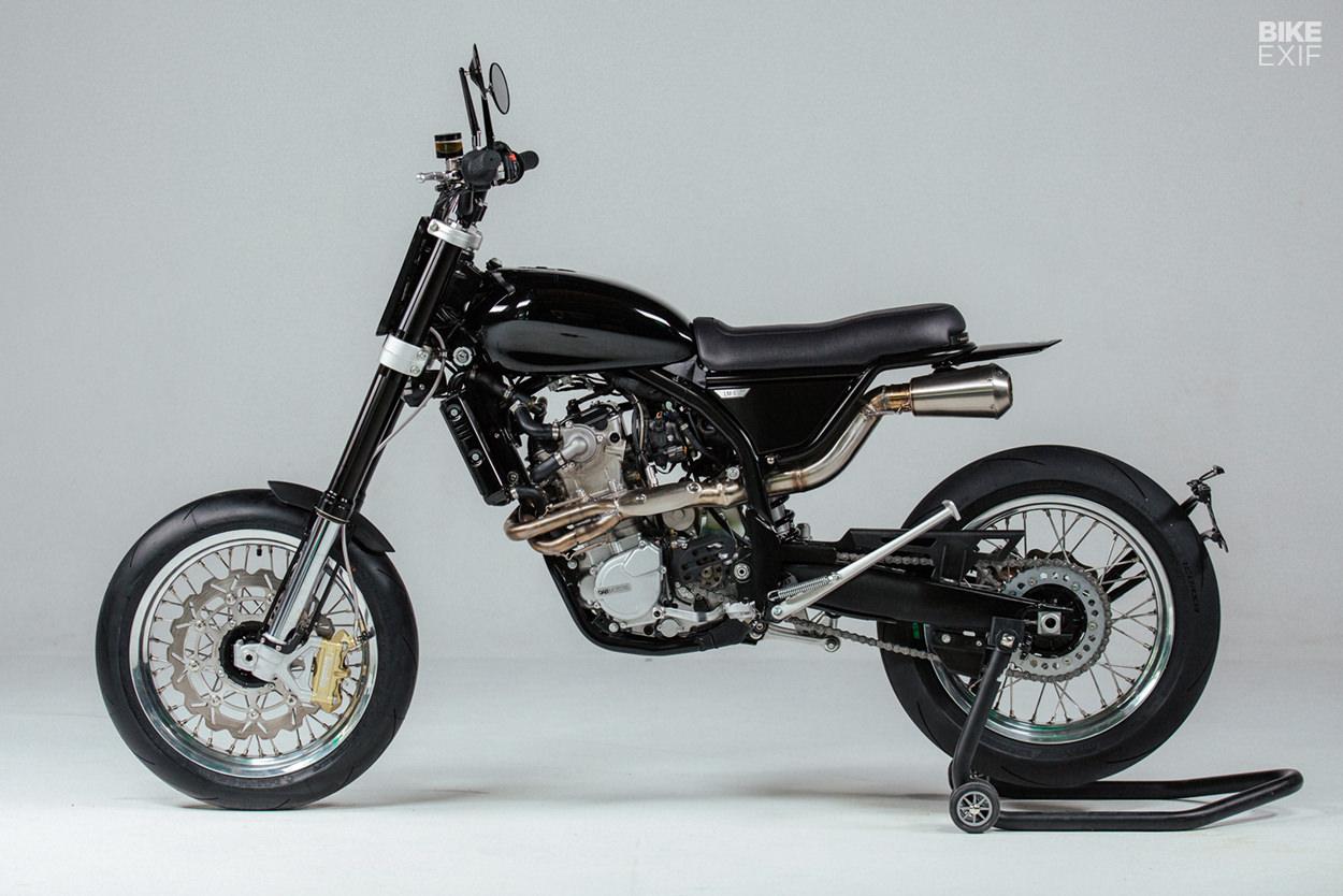 Euro4 certified Husqvarna 510 custom by Dab Motors