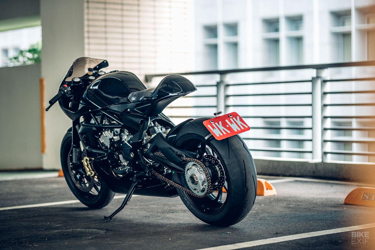 MV Agusta Brutale 675 cafe racer by OneHandMade