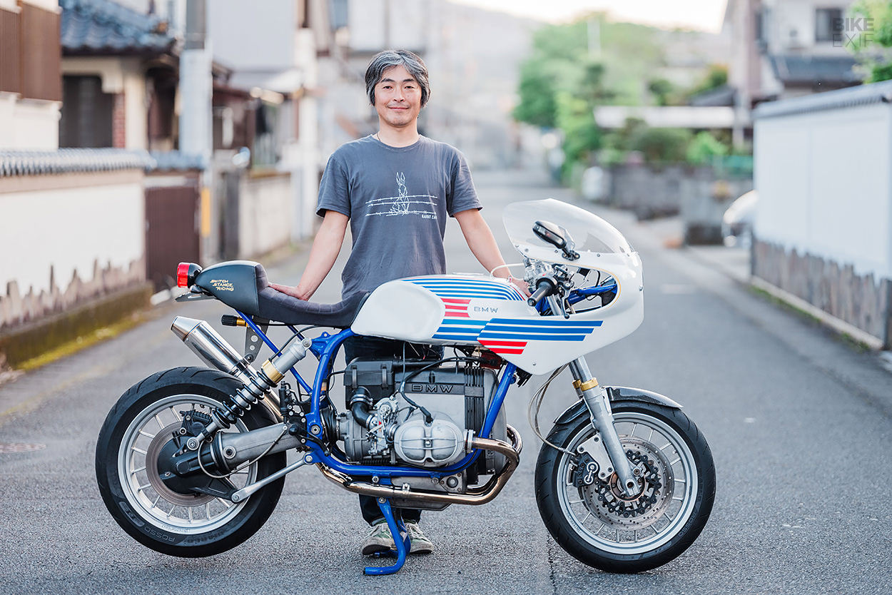 Hybrid BMW R80 and Ducati endurance style custom by Switch Stance