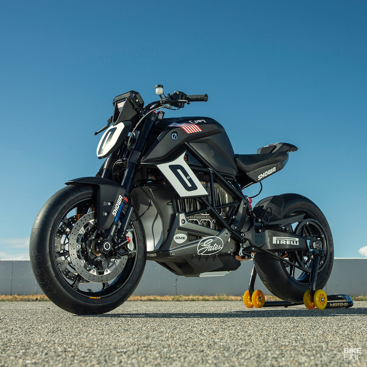 Racing To The Clouds: The Pikes Peak Zero SR/F electric racing motorcycle