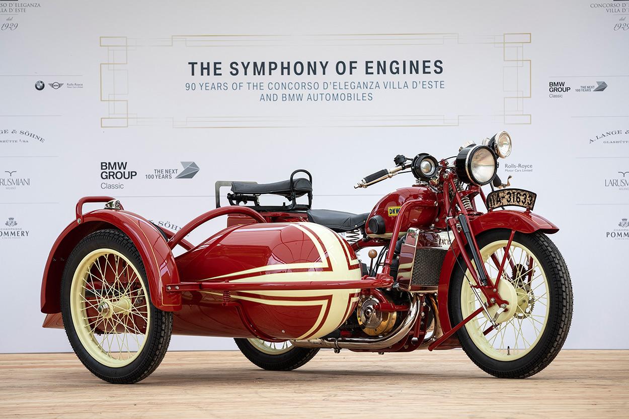 1929 DKW Super Sport at the 2019 Concorso d'Eleganza