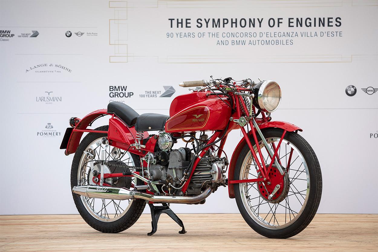 1938 Moto Guzzi GTCL at the 2019 Concorso d'Eleganza