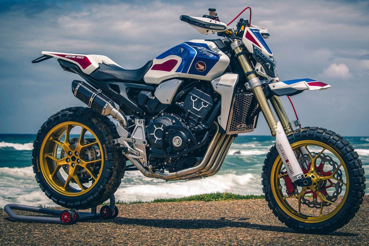 Honda CB1000r scrambler custom