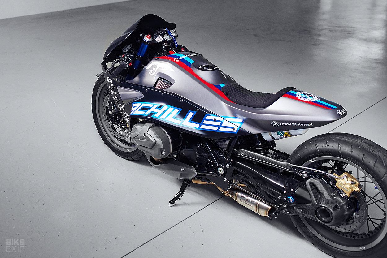 Achilles Bmw S New R1250rs Gets The Drag Bike Treatment