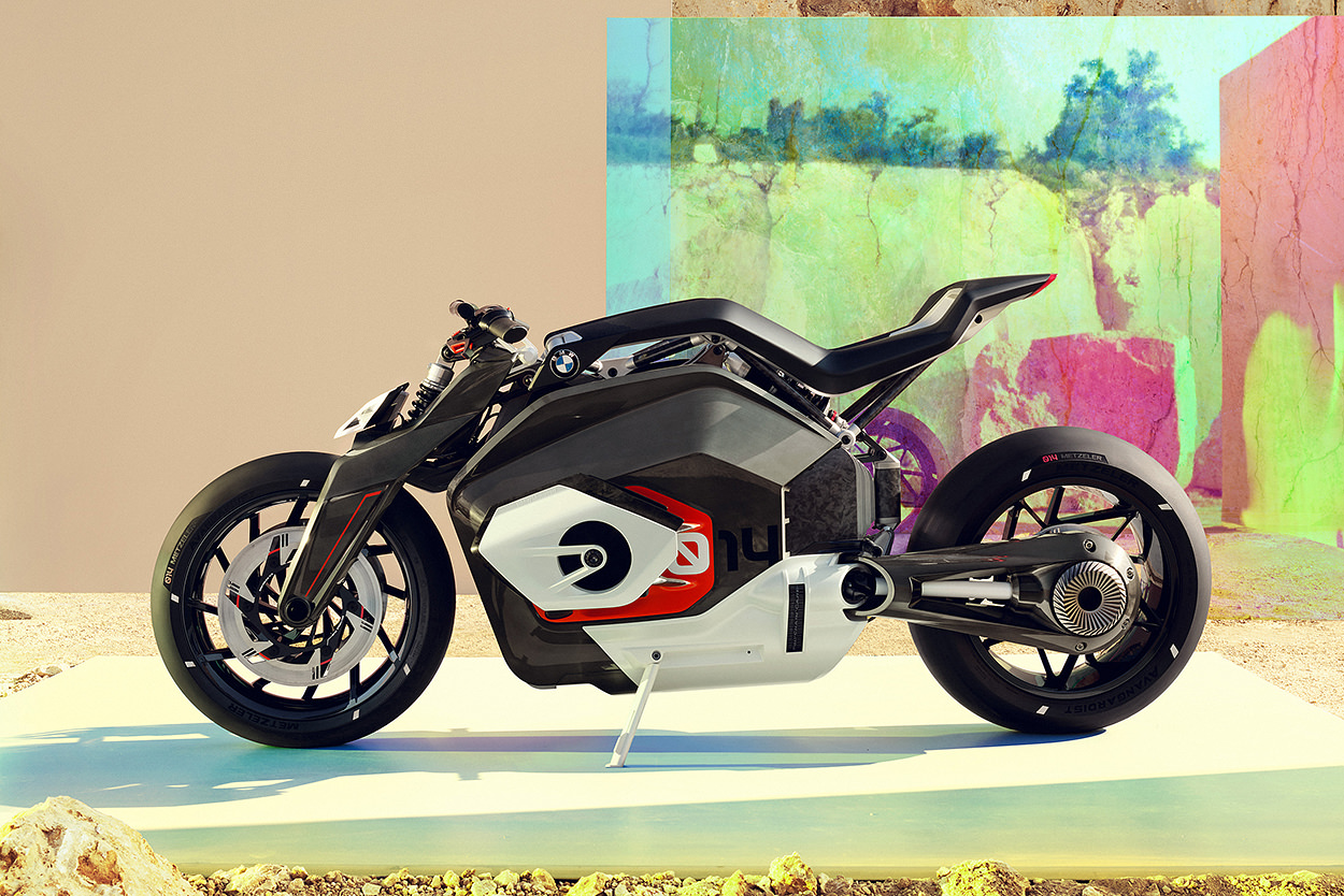 BMW Vision DC Roadster electric motorcycle concept