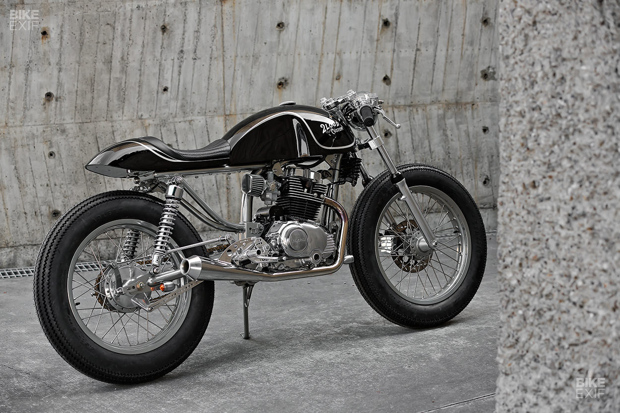 Custom Hartford HD200 motorcycle by 2LOUD