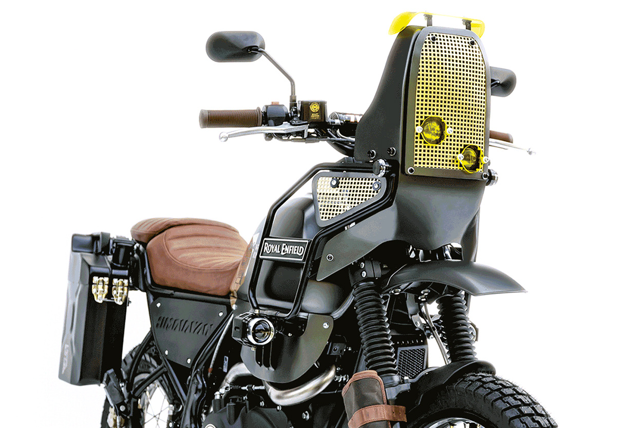Custom Royal Enfield Himalayan Wrench Kings