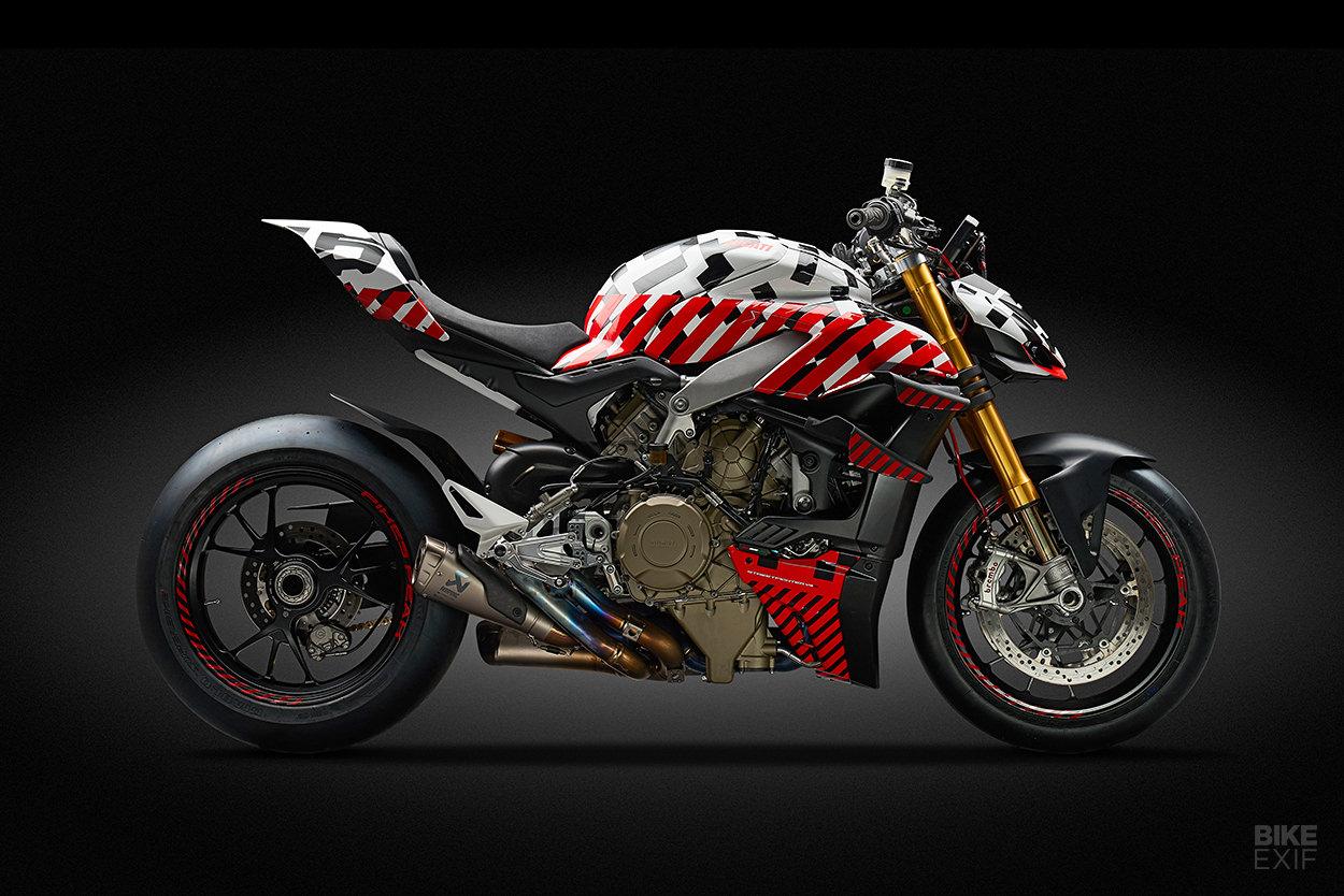 2019 Ducati Streetfighter V4 prototype
