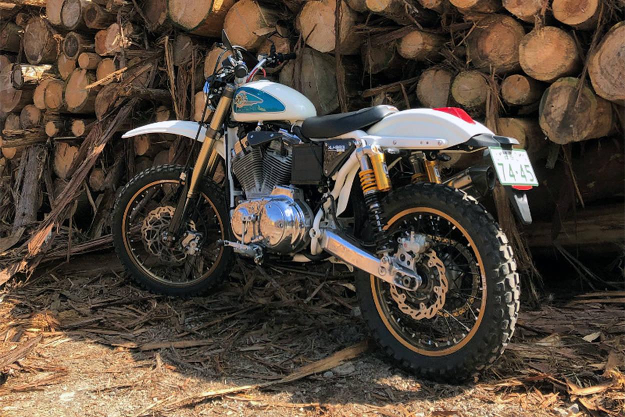 Harley-Davidson Sportster scrambler by Chikara Ueyama