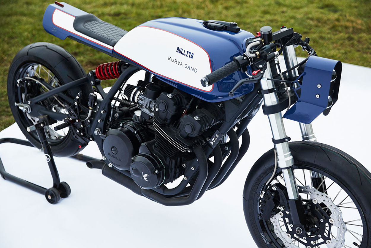 Honda CB750 Bol d&'Or cafe racer by Bullita