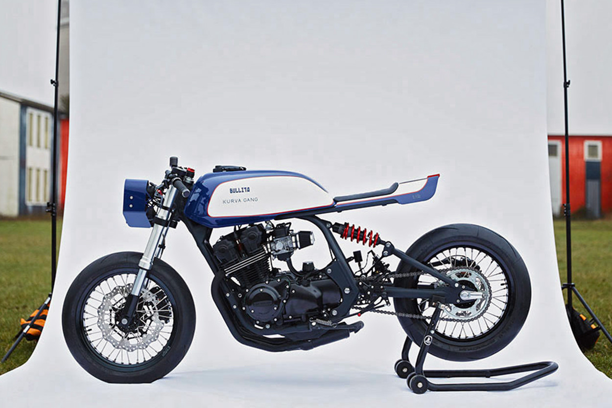 Honda CB750 Bol d'Or cafe racer by Bullita