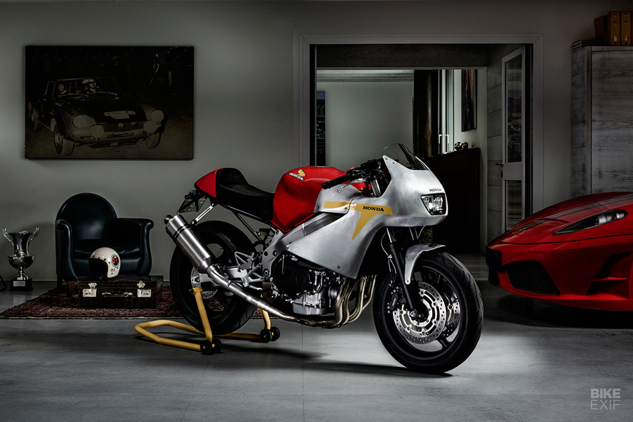 Honda CBR600F by North East Custom