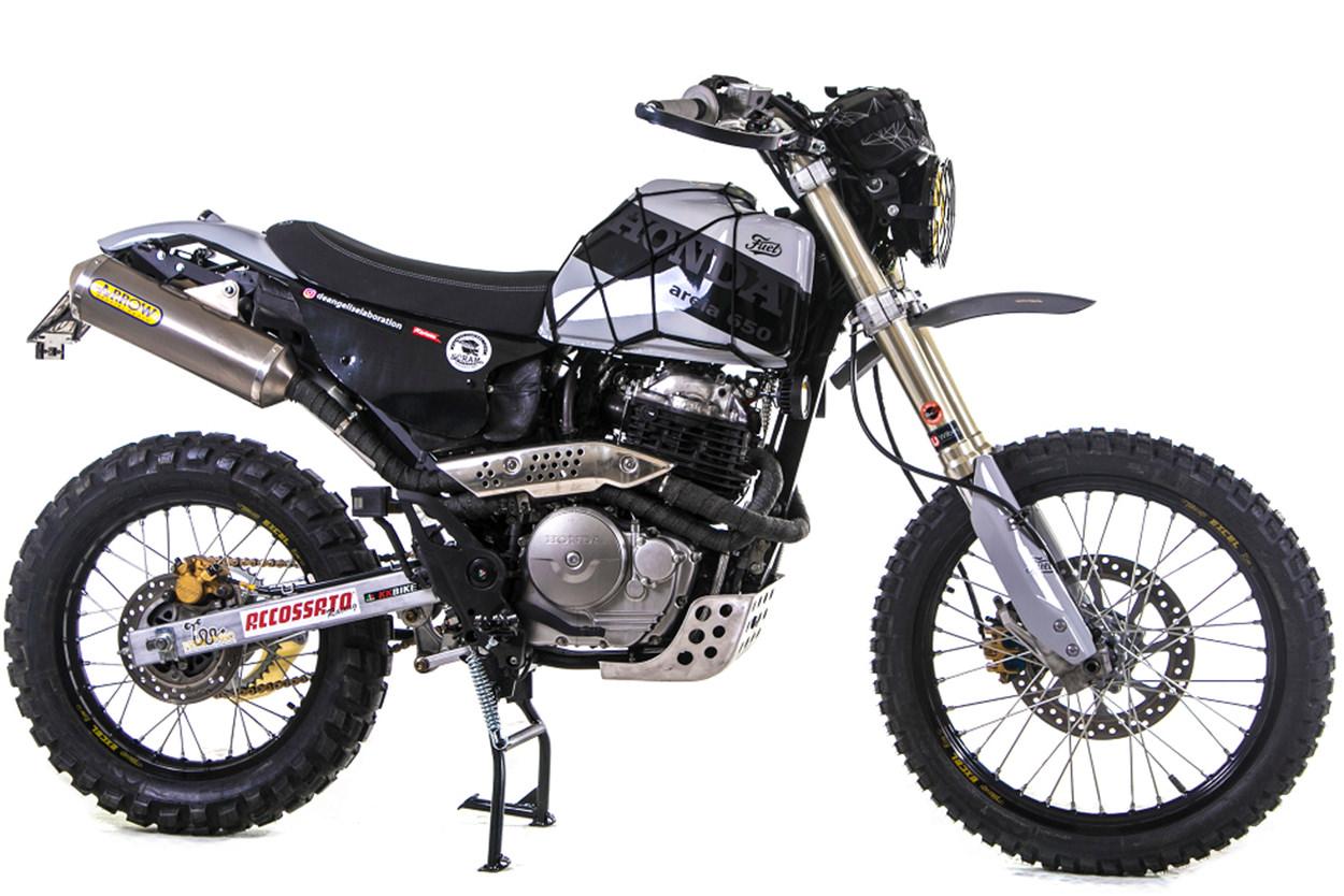 Honda FMX 650 scrambler