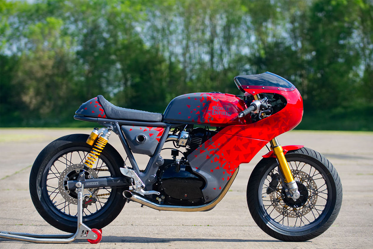 Royal Enfield x Harris Performance 650 café racer