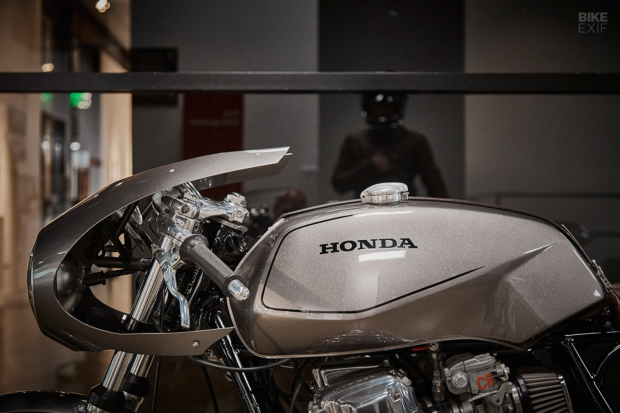 1974 Honda CB750 K4 cafe racer by Raccia Motorcycles