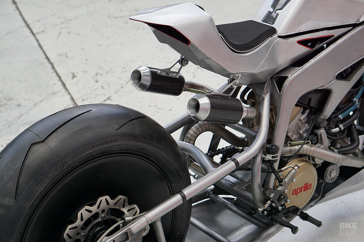 Aprilia SXV550 custom by Simone Conti