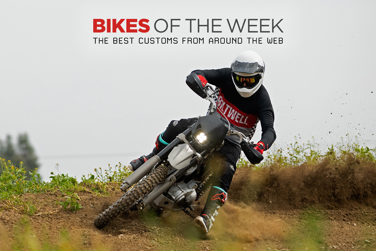 The best custom scramblers, retro kits and minibikes from around the web