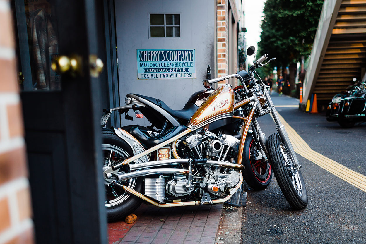 Cherry's Company Japanese custom motorcycle workshop