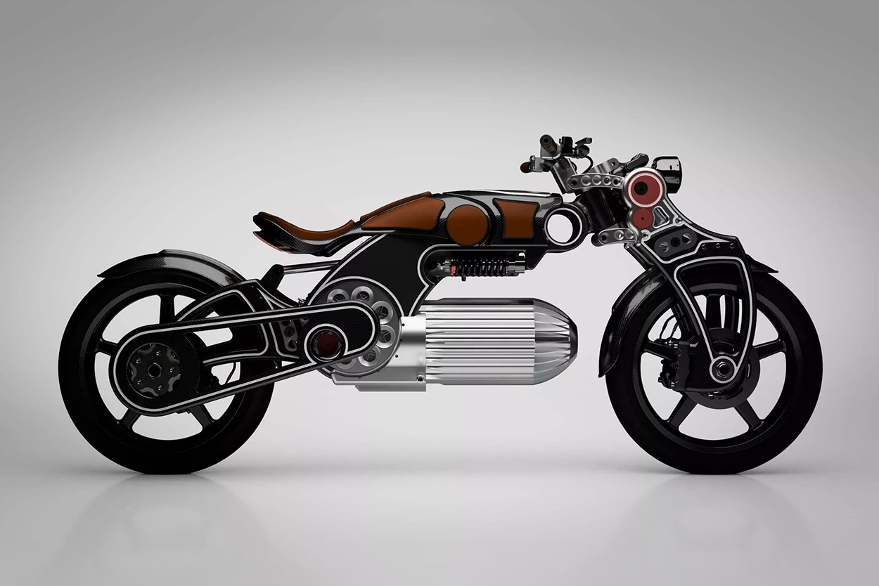 Curtiss Hades electric motorcycle concept