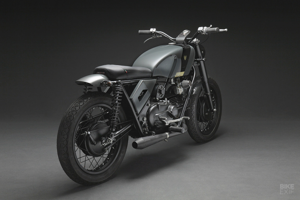 The Guzzi Nuovo Falcone reimagined for 2020 by Venier Customs