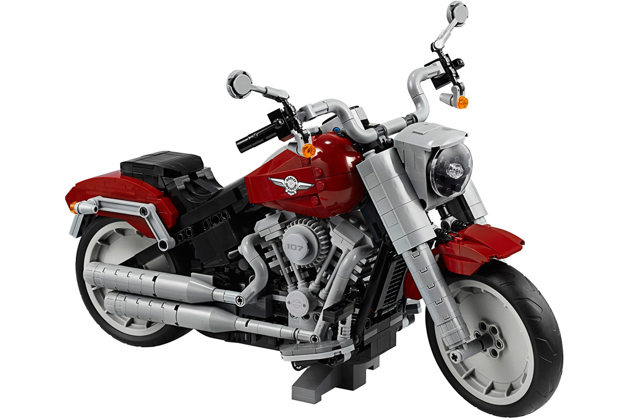 Harley-Davidson Fat Boy by Lego