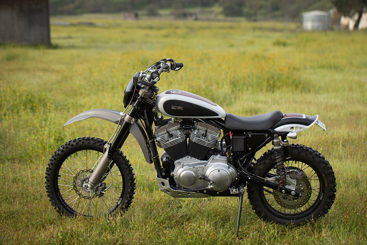 Harley-Davidson Sportster by Biltwell Inc. and Rouserworks