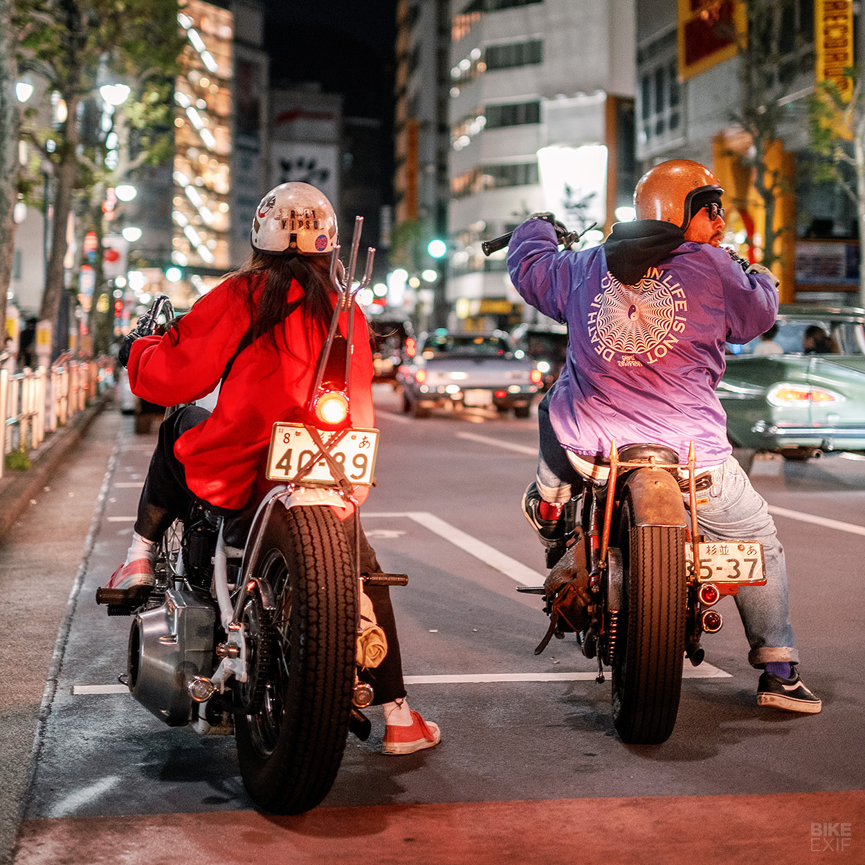 Japanese custom motorcycles and bobbers