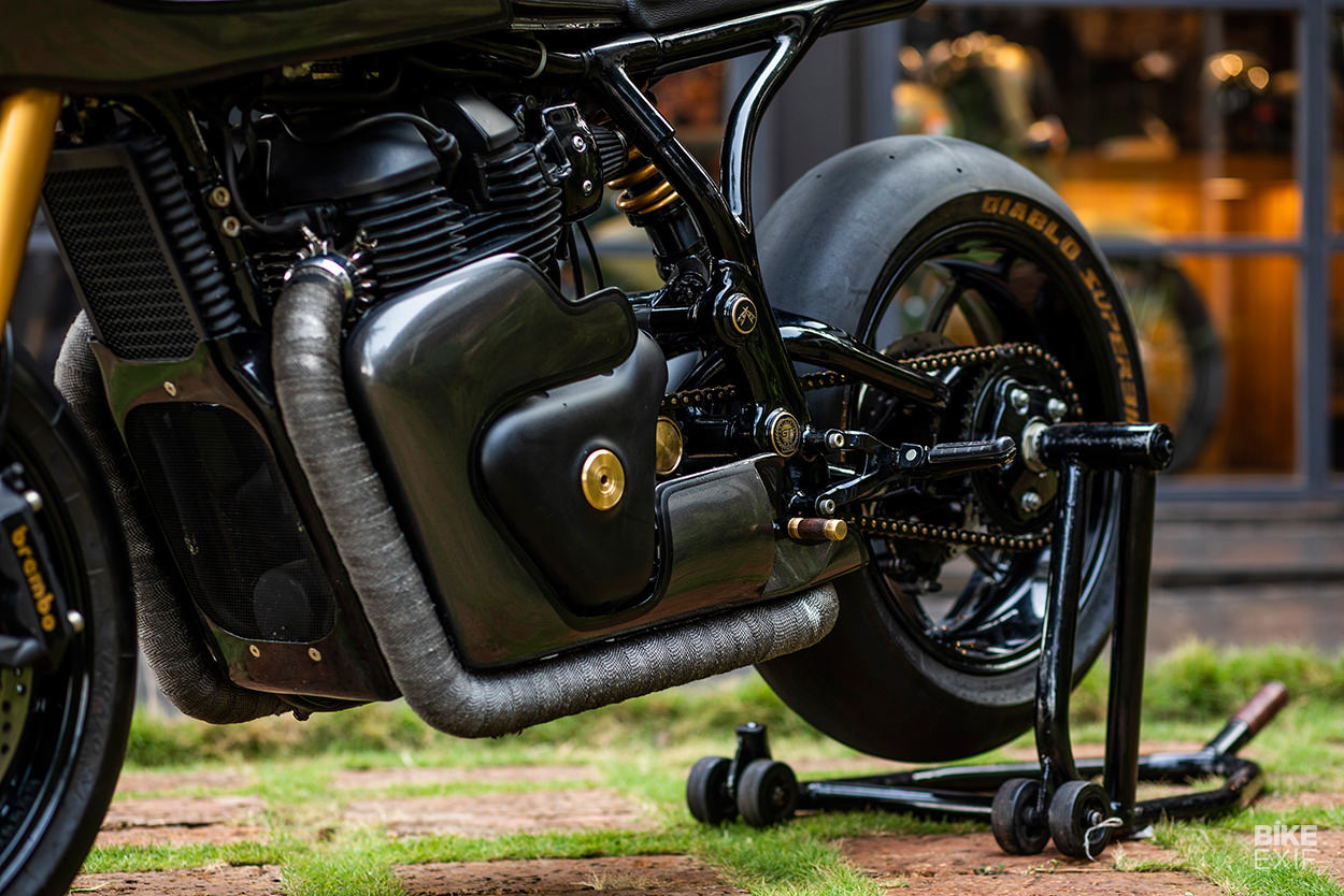 Vigilante: A Royal Enfield cafe racer from Jaipur | Bike EXIF