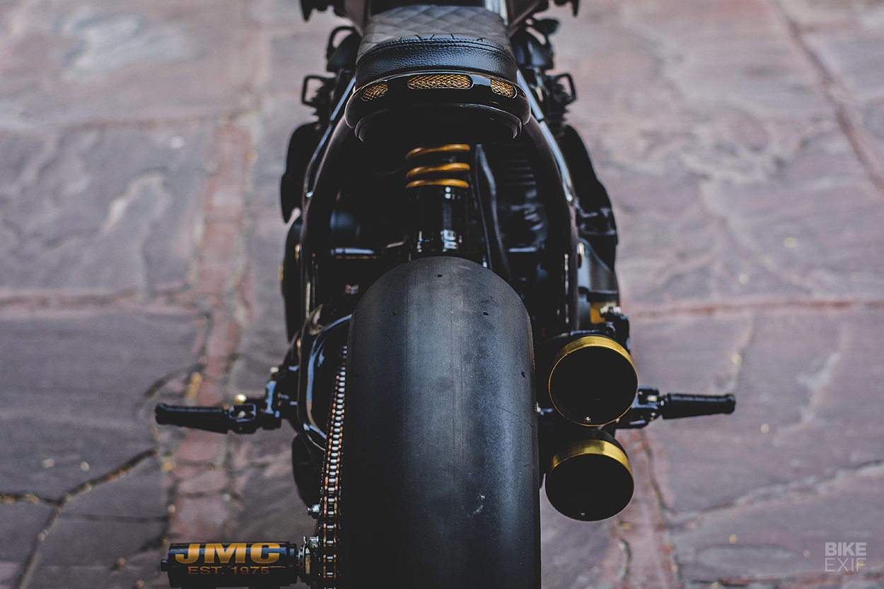 Vigilante: A Royal Enfield cafe racer from Jaipur