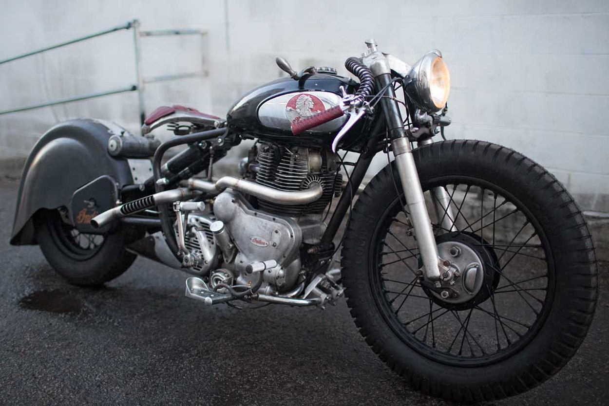 Royal Enfield Indian by Madhouse Motors