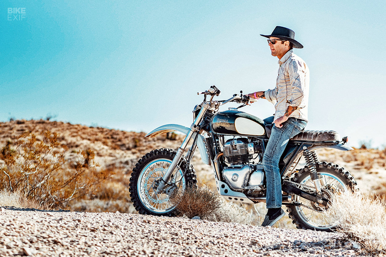 The Revival X Royal Enfield 'Desert Runner' Interceptor 650
