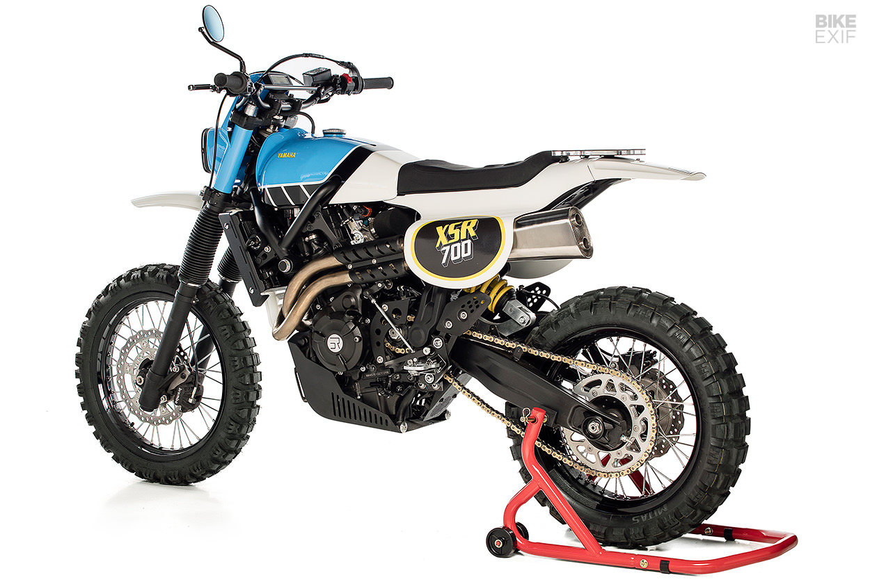 Yamaha Scrambler: An XSR700 that evokes the classic IT enduros