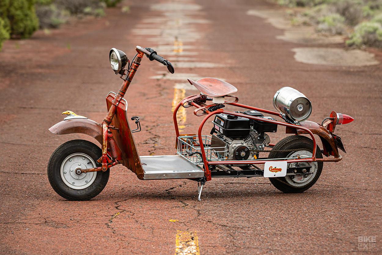 1958 Cushman Highlander motor scooter