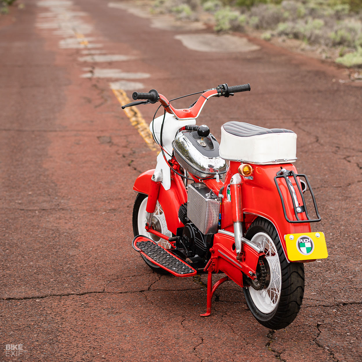 1960 Puch DS60 Cheetah scooter