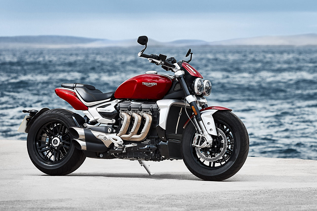2020 Triumph Rocket 3 R and GT