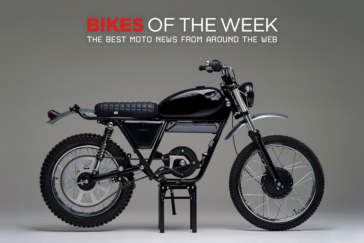 The best electric motorcycles, cafe racers and restomods from around the web