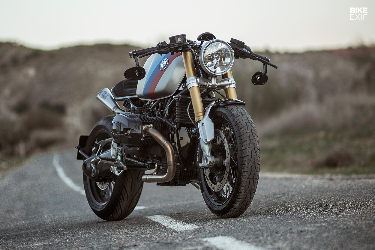 Bavara: A custom BMW R9T with an R90S tank