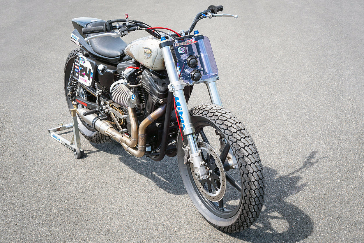 Buell-powered Sportster by Rivertown Custom Cycles