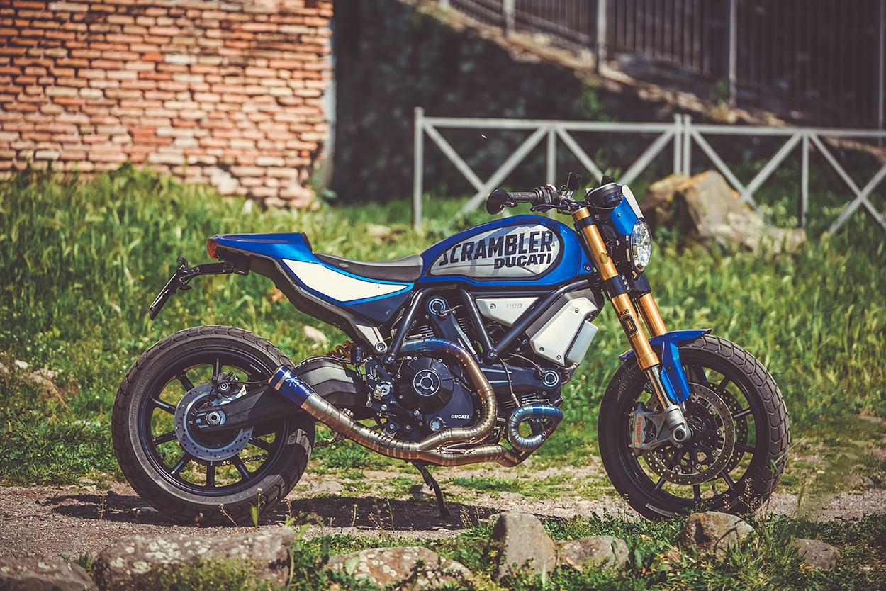 Ducati Scrambler 1100 kit by CC Racing Garage
