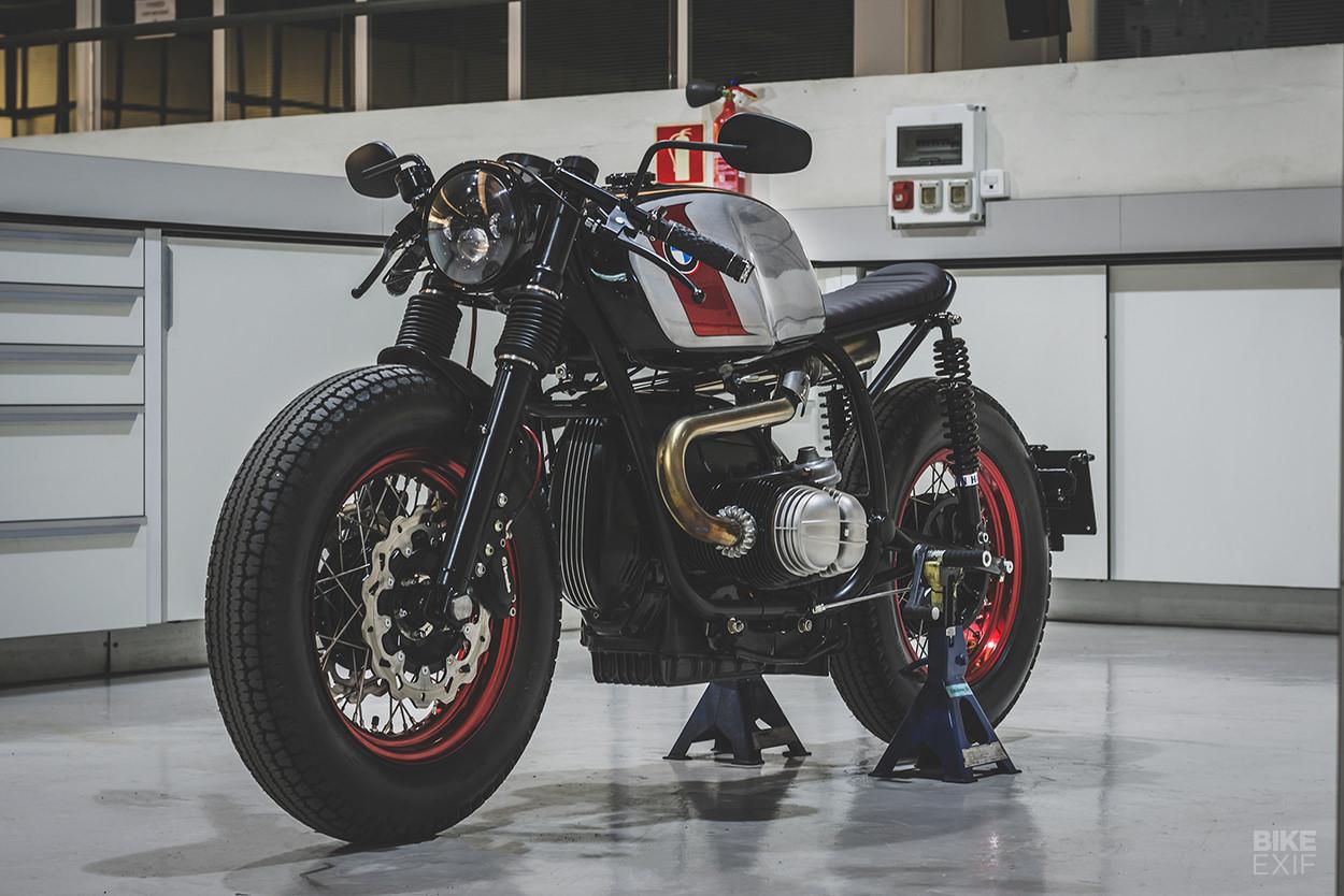 Custom BMW motorcycle by Bolt Motor Co.