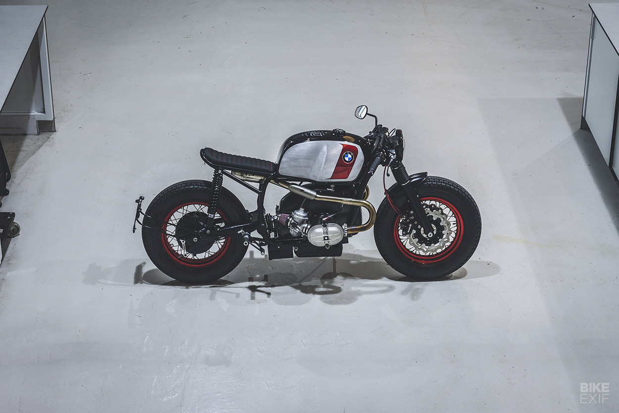 Custom BMW motorcycle by Bolt Motor Co.