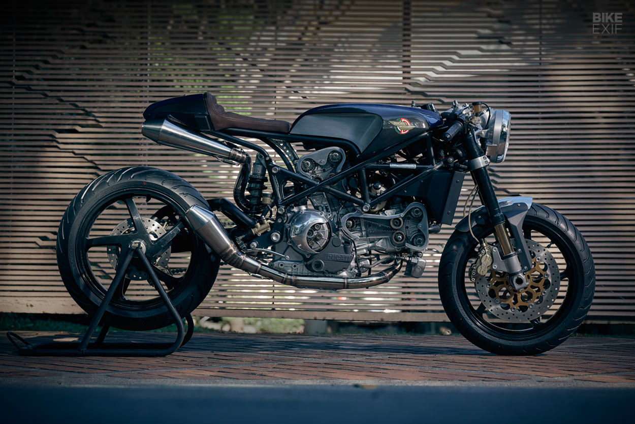Custom Ducati S4R from Benjie's Cafe Racers